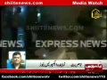 [media watch] Express News - Bomb Blast at Abbas town Karachi - 3 march 2013 - urdu
