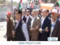 [22 Mar 2013] Palestinians protest Obama visit to Palestine - English