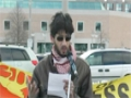 Toronto Protest For Sibte Jafar- Br. Adnan Haider Reciting His Motivational Poetry 23Mar2013 - English