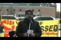 Toronto Protest For Sibte Jafar- Br. Mehboob Shah Reading Istighasa to Imam 23Mar2013 - English