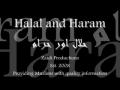 Halal and Haram (Good Scientific Explanation)  - English