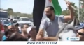 [11 April 2012] Protesters call for immediate release of Samer Issawi - English