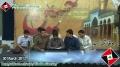 [Majlis Barae Bulandi e Darjat Shaheed Ustad Sibte Jaffer] Sozkhwani - 30 March 2013 - Urdu