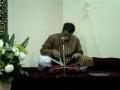 Allamdar Syed - Aaj Ka Mauzoo-e-Sukhan Mera - Qaseeda - Urdu