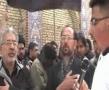Allamdar Syed reciting Noha at Karbala Arbaeen 2008 -  Kya raha khaimon meh Sheh kay - Urdu
