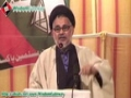 [5 May 2013] Speech H.I. Hasan Zafar Naqvi - PS-117 Election Campaign - Urdu