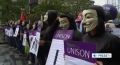 [16 June 13] Thousands march against the G8 meeting in northern Ireland - English
