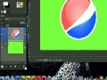 GIMP - How to make a Pepsi style Logo - English