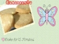 Batool Butterfly is baking Short bread this Ramadhan! English