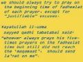 [abbasayleya.org] Salaat Seminar - Part 11 - English