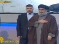 Sayyed Hassan Nasrallah Arrives Live in Person for Electrifying Speech on Quds Day - Aug 2013 - Arabic sub English