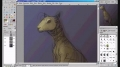 GIMP - Realistic Ampharos painting - English