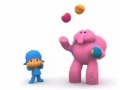 Kids cartoon - POCOYO - Juggling Balls - English
