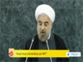 [26 Sept 2013] Iran President Hassan Rouhani calls for global nuclear disarmament - English
