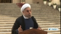 [02 Oct 2013] Iran president says years of problems in Iran-US ties cannot be solved within days - English