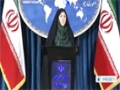 [22 Oct 2013] Iran Foreign Ministry Spokeswoman Marzieh Afkham Press Conf. Part 1 - English