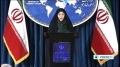 [22 Oct 2013] Iran Foreign Ministry Spokeswoman Marzieh Afkham Press Conf. Part 2 - English