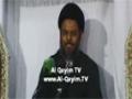 [05] Muharram 1435 - Nizam e Haq aur Qiyam e Hussain (a.s) - H.I Aqeel Ul Gharavi - Urdu