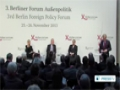 [26 Nov 2013] Berlin foreign policy forum focuses on Iran - English