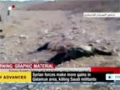 [01 Dec 2013] israeli weaponry including missiles seized from militants in Homs prov - English