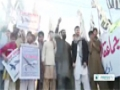 [05 Dec 2013] Pakistan provincial govt members stage sit in against US drones - English