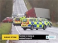 [05 Dec 2013] 5 dead or missing as mainland Europe hit - English