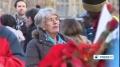 [06 Dec 2013] Brits pay tribute to once terrorist Mandela - English