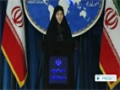 [16 Dec 2013] Iran Foreign Ministry Spokeswoman Weekly Press Conf. (P.1) - English