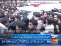[Media Watch] Zakir Shaukat Raza Shaukat on Janaza Shaheed Nasir Abbas - Urdu