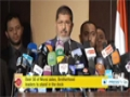 [18 Dec 2013] Egypt public prosecutor orders the trial of ousted president Mohamed Morsi - English