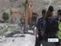 [14 Jan 2014] israeli army demolished dozens of Palestinian homes in Jordan Valley - English