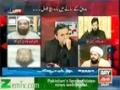 [Talk Show] ARY News | H.I Amin Shaheedi - Firko Ke Darmiyaan Bhai Chaara Kaise Mumkin?? - 14 Jan 2014 - Urdu
