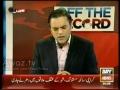 Kya Dehshat Gardon se Guftugu ki ja sakti hai - Off The Record - Part 8/14 - Urdu