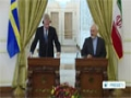[03 Feb 2014] Joint news conference of Iranian and Swedish FMs ( Part 1 ) - English