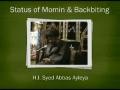 [Short Clip] Status of Azadari of Imam Husain (a.s) -  H.I Abbas Ayleya - English