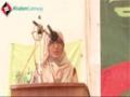 [یوم مصطفی ص] Speech : Sis. Zoya Khan - 04 Feb 2014 - Karachi University - Urdu