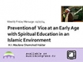 [Weekly Msg] Prevention of Vice at an Early Age | H.I Shamshad Haidar | 07 February 2014 - English