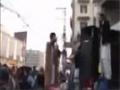 سانحہ عاشورہ کے اسیران کے لیے نکالی . آغا علی اکبر کاظمی خطاب - Urdu