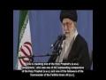 Ayatullah Khamenei condemns desecration of grave of Hazrat Hujr ibn Adi companion of Prophet Muhammad [saww] - Farsi sub