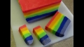 How To Make Rainbow Fudge - with Yoyomax - English