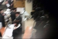 Zionist police burst into the Synagogue and attack the worshipers