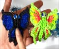 Rainbow Loom Charms Butterfly Design - English