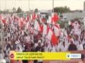 [18 Apr 2014] Bahrainis join opposition rally dubbed The Demands Remain - English