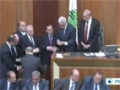 [23 Apr 2014] Lebanese lawmakers fail to elect new president in first vote - English