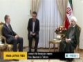 [23 Apr 2014] Latvian FM Renkevics meets President Rouhani in Tehran - English