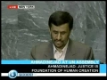 Ahmadinejad speech at UNO Part 2 -English