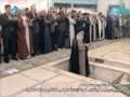 [August 2013] Ayatullah Khamenei Leading Eid Prayers - Namaz at Tehran University - Arabic