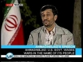 President Ahmadinejad Interview Short - 7th October 2008 - English