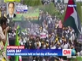 [Cnn News] Thousands turn out for Quds Day in Iran - English