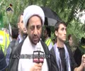 [Al-Quds Day In London 2014] Quds Day Comments by Molana Jafar Ali Najam - Ramadan 1435 - Urdu